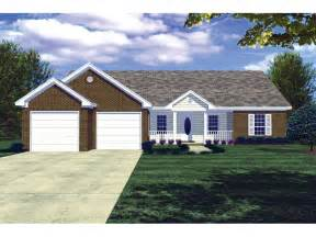 Pompeii Ranch Style Home Plan 077d 0020 House Plan Front Porch Ideas Style For Ranch Home