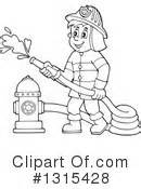 13000 firefighter clipart black and white fireman clipart 1315430 illustration by visekart