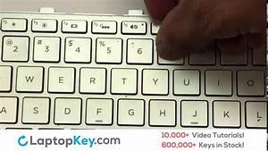 Netbook Laptop Keyboard Key Repair