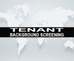 Renters Background Check Tenant Background Screening