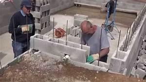 Prix Agglo De 20 : 140425 les parpaings sortent de terre youtube ~ Dailycaller-alerts.com Idées de Décoration