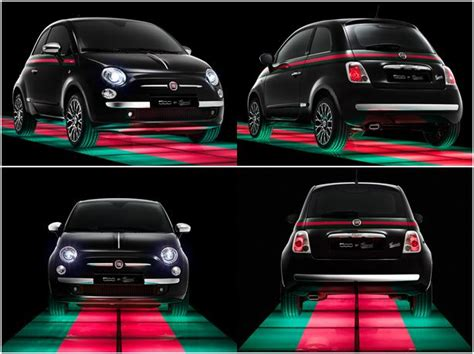 Fiat Car Accessories by Fiat 500 Gucci Edition But White Convertible