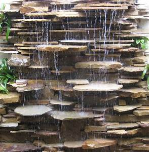 Outdoor Waterfall Fountain Incredible Water Features And