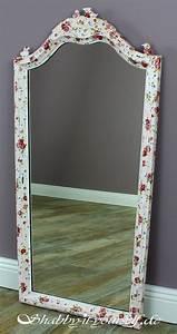 Bastel Spiegel Kaufen : serviettentechnik spiegel rosi so wurde er shabby chic ~ Lizthompson.info Haus und Dekorationen