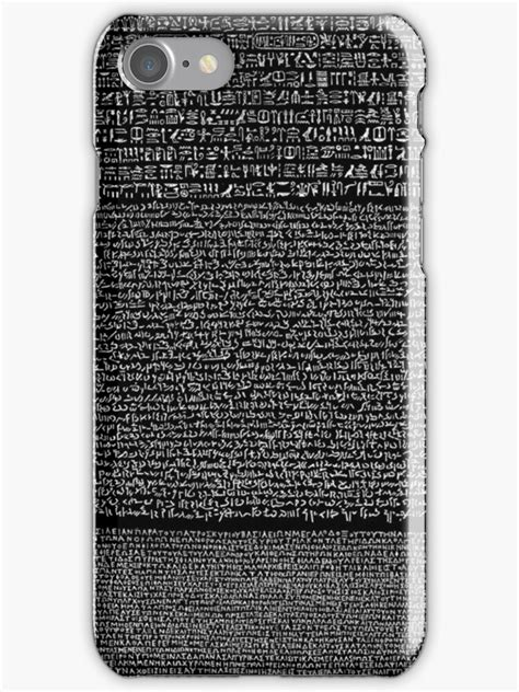 """""""Rosetta Stone"""" iPhone Cases & Skins by Ommik 