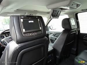 Ebony Interior 2013 Cadillac Escalade Platinum Awd Photo  69175780