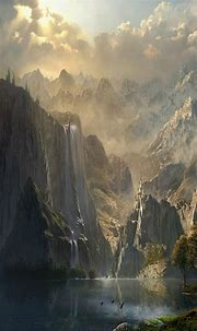 Fantasy Landscape Wallpaper (77+ pictures)