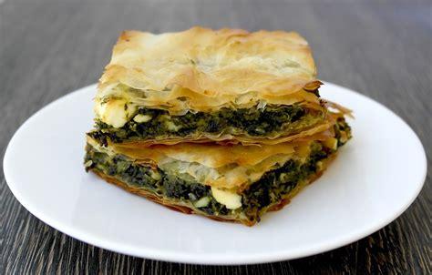 cuisine grecque antique spanakopita recipe spinach and feta pie