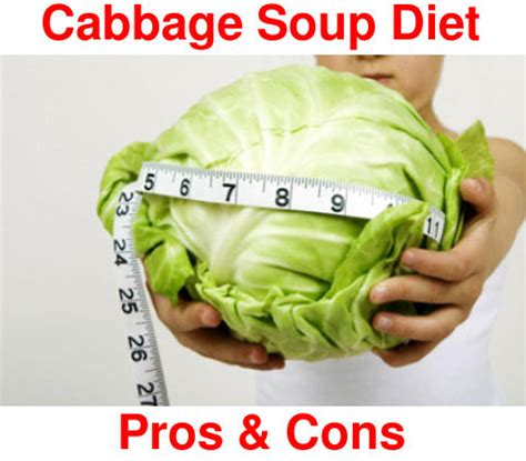 cabbage soup diet pros  cons myhealthbynaturecom