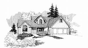 Northwest Style House Plans - 2104 Square Foot Home , 2 ...