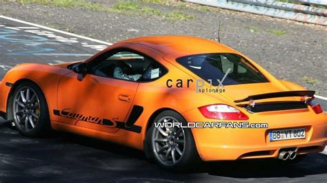 Porsche Cayman Rs by Porsche Cayman Rs Spied On The Ring