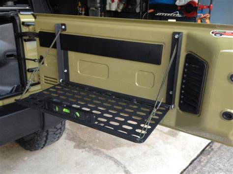 jeep tailgate storage looking for tailgate storage jeep wrangler forum