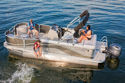 Used Boat Parts Muskegon Mi by New 2018 Suncatcher V20 Fish Cruise Power Boats Outboard