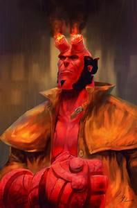 Hellboy Fan Art by shahanart on DeviantArt