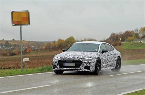 Barrier Audi by New 2019 Audi Rs7 Sportback To 600bhp Barrier Autocar