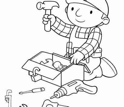 Coloring Pages Tools Construction Science Site Tool