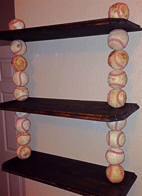 custom   order baseball shelves  shelves