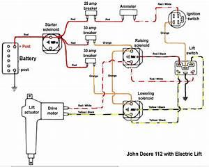 1968 John Deere 112 Wiring Diagram