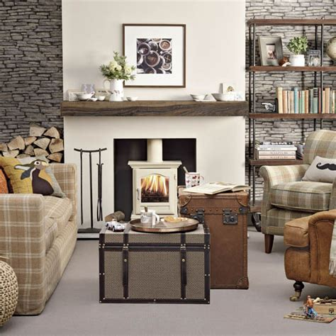 30980 log furniture place modernist fireplace ideas ideal home