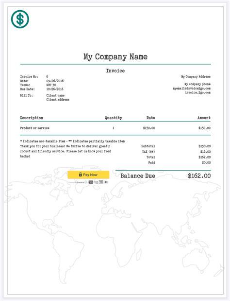 Simple Invoice Template How To Create A Professional Invoice Sle Invoice