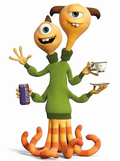 Monsters University Inc Disney Characters Terry Terri