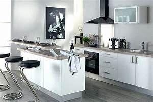 Modele De Cuisine Moderne : emejing modele cuisine moderne photos awesome interior ~ Melissatoandfro.com Idées de Décoration