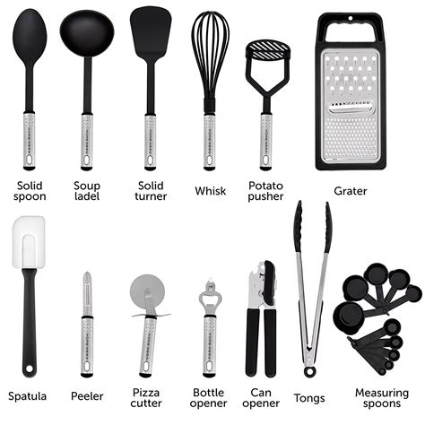 kitchen cooking spatula utensils gadgets utensil tool nylon names cookware gift tools homehero sets cook hero shipping easy garden previous