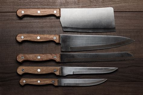 kitchen knives five knives every home chef should own