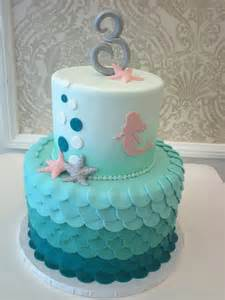Little Mermaid Baby Shower Cake