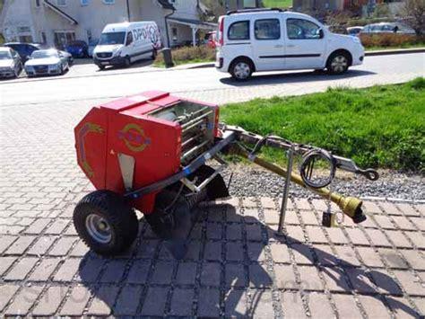 Rundballenpresse Caeb Mp550tpl Heu Stroh Presse Mountainpress F 252 R Traktor Gebr Ebay