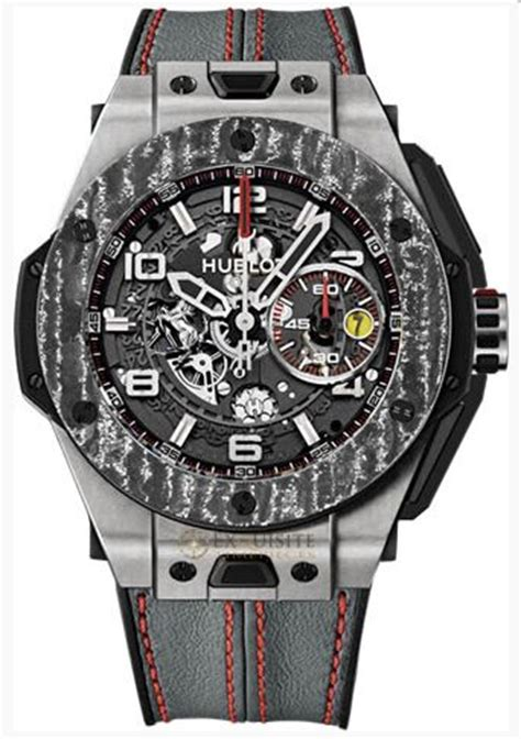Hublot big bang original steel ceramic 12/2019. Hublot Big Bang Ferrari Carbon Limited Edition hombres reloj reloj R