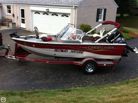 Crestliner Boats In Ohio by Crestliner Sport Angler 1650 Boats For Sale Boats