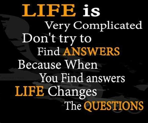 Complicated Life Quotes Love
