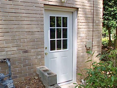 prehung exterior door how to install a pre hung exterior door how tos diy