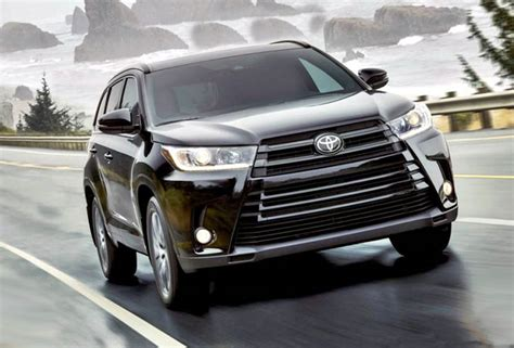 2019 Toyota Highlander Updates Vs 2017 Xle Spirotourscom