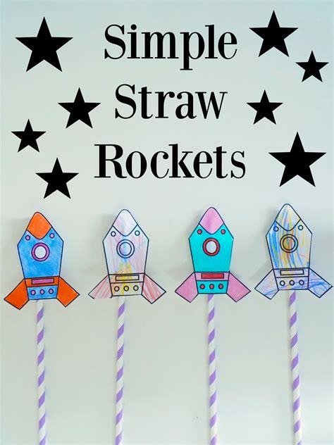 simple straw rockets free printable pre k straw 489 | e0e3126b89f9e2c9a343464a6649fe76