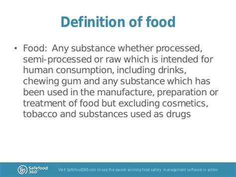 meaning of cuisine in food safety risk analysis part 1