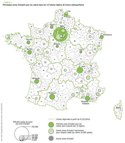 cartographie de l emploi cadre en cadreo