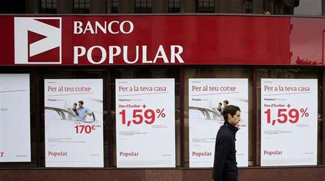 El Banco Popular Elimina 302 Sucursales Y Reduce