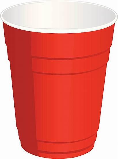 Cup Plastic Clipart Illustrations Clip Vector Disposable