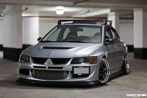 Custom Mitsubishi Evo by Mitsubishi Lancer Evolution Tuning Custom Wallpaper