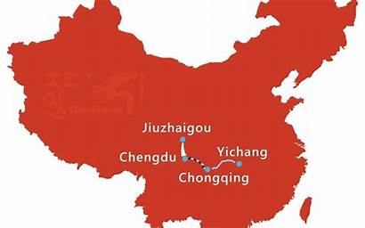 Yangtze Tour Cruise Chengdu Jiuzhaigou Gorges Three