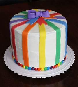 Straight to Cake: Rainbow Cake