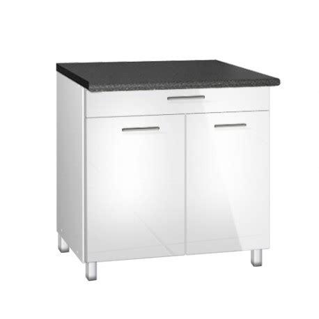 meuble cuisine 90 cm meuble de cuisine bas 90 cm 1 tiroir tara avec pieds réglables