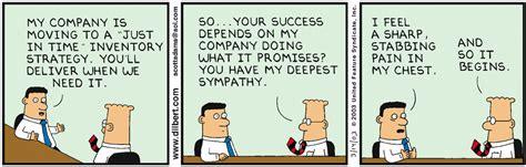 The top-ten Dilbert cartoons on lean - better operations