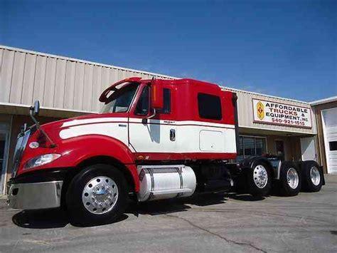 Top Affordable Trucks by International Prostar Plus 2012 Sleeper Semi Trucks