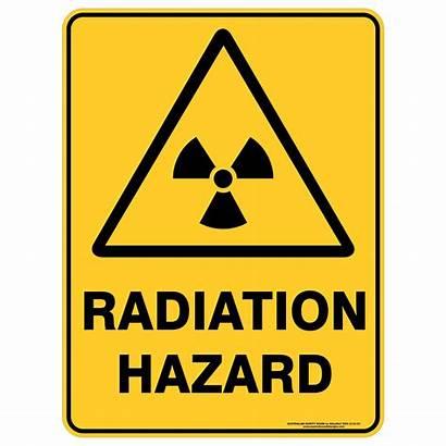 Radiation Hazard Signs Warning Safety Sign Australia