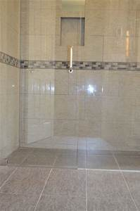 Zero-entry Shower  - Contemporary - Bathroom