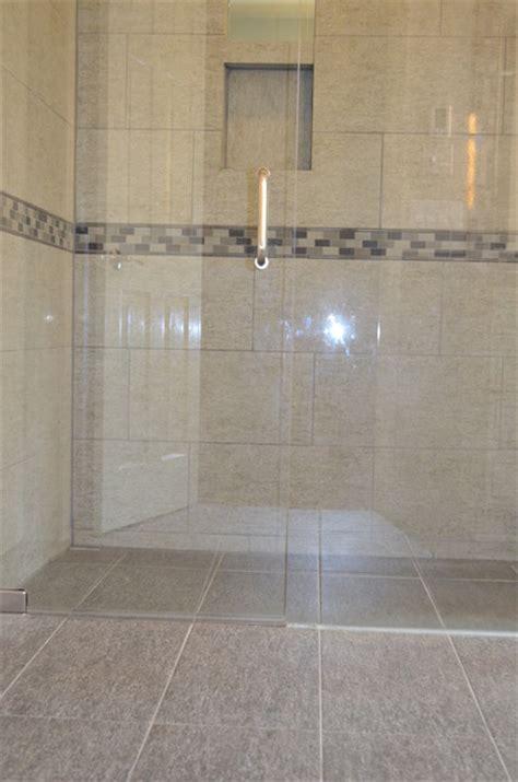 Zero Entry Shower,   Contemporary   Bathroom   Cincinnati