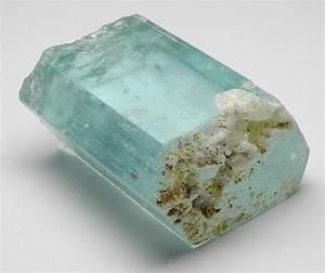Aquamarine entry for the The Gemstone Cabochon Crystal Blog